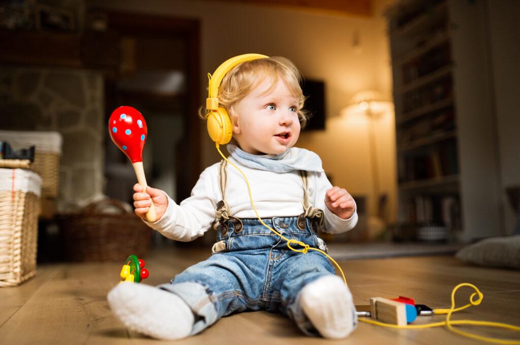 El poder de la música en niños pequeños